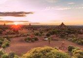 Fotografie Bagan staré starověký chrám