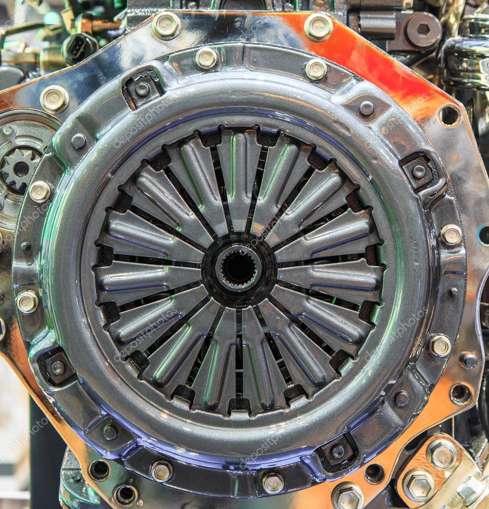 Teile von Auto-Motor — Stockfoto © Deerphoto #55339401
