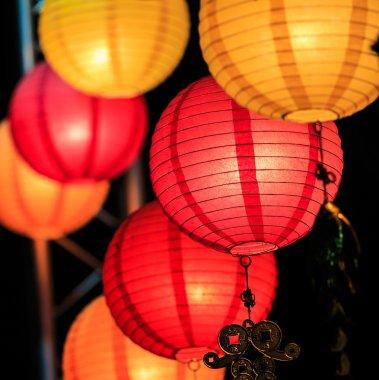 Chinese lanterns season