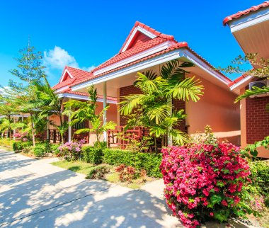 Resort hotel and bungalow