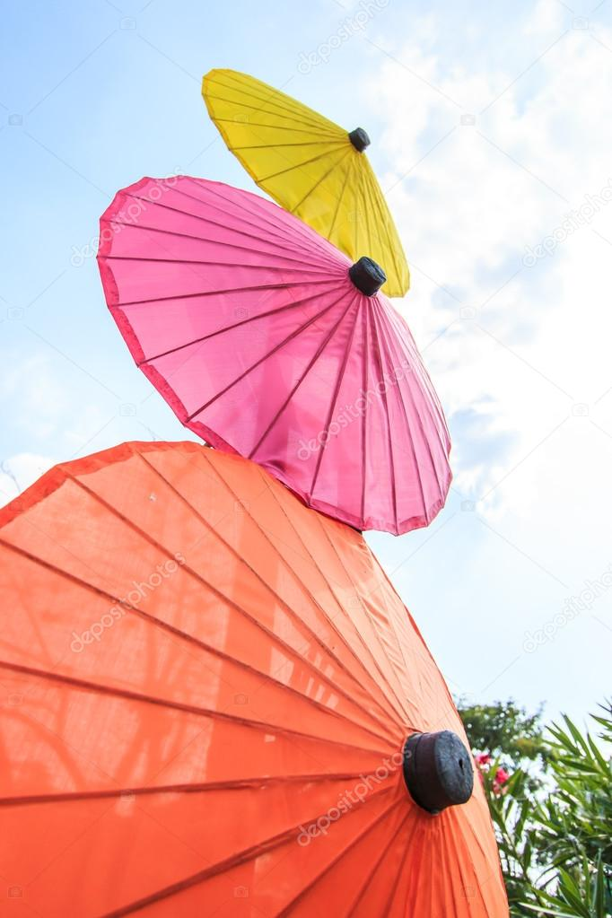 Handmade Paper  umbrellas