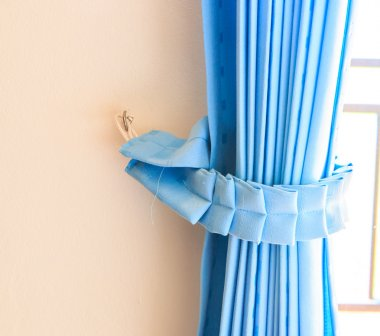 Blue Curtains background