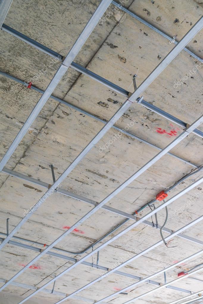 Decke-Rahmenkonstruktion — Stockfoto © Deerphoto #64812185