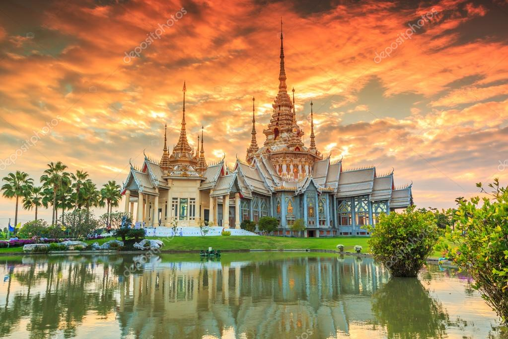Wat thai in temple Thailand