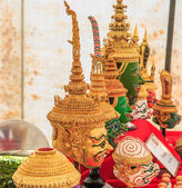 Fotografie Thai traditional Souvenir of warrior