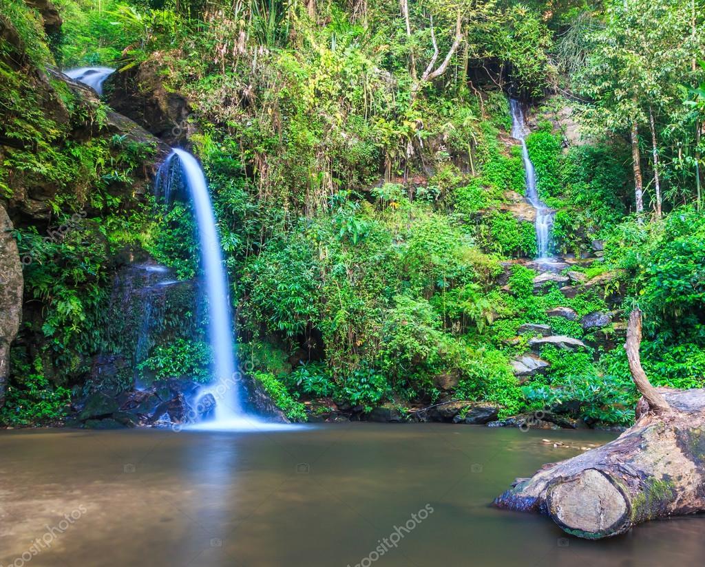 Waterfall at Chiang Mai, Thailand