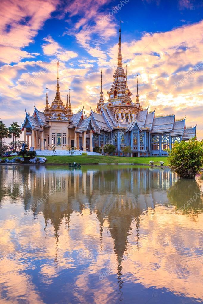 Wat thai temple in Thailand