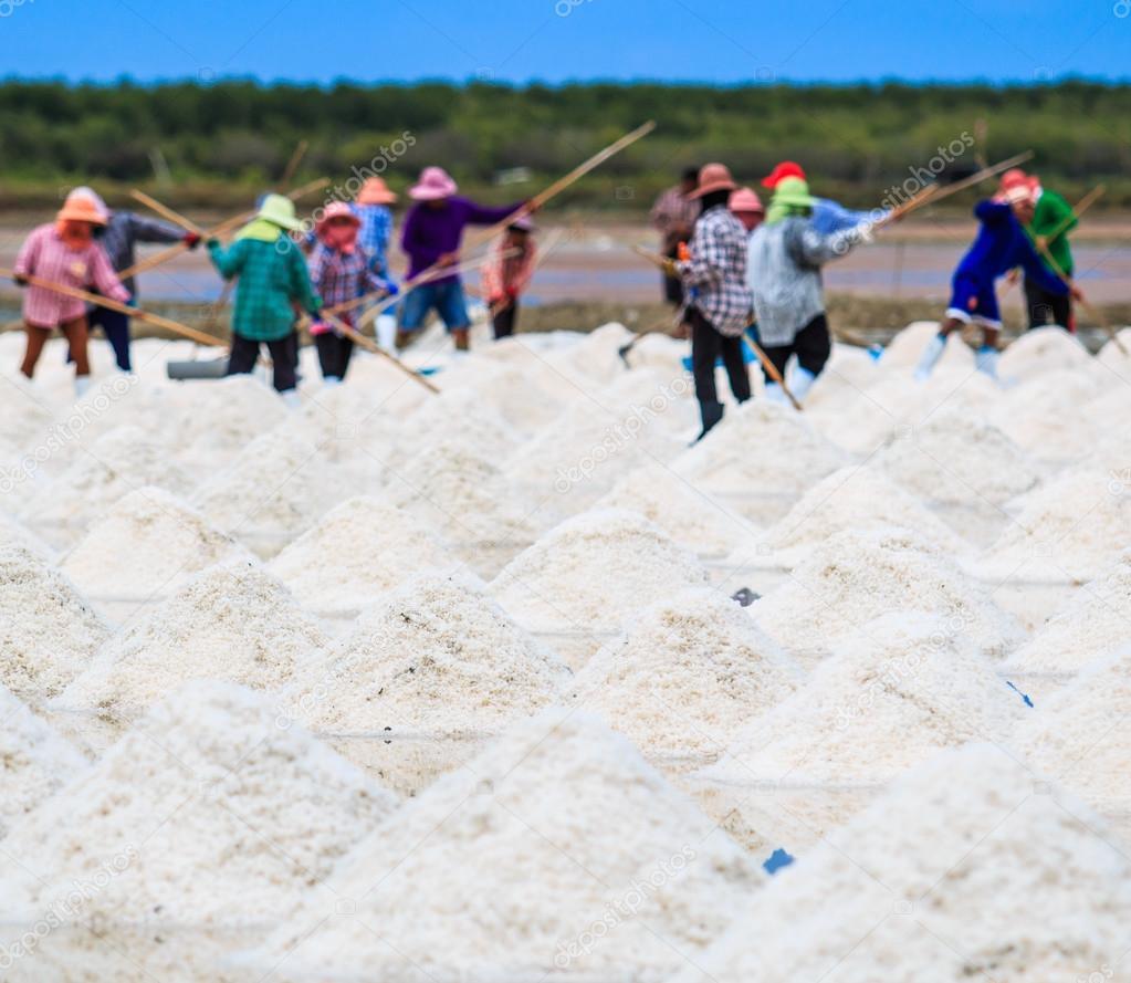 Sea salt in Thailand