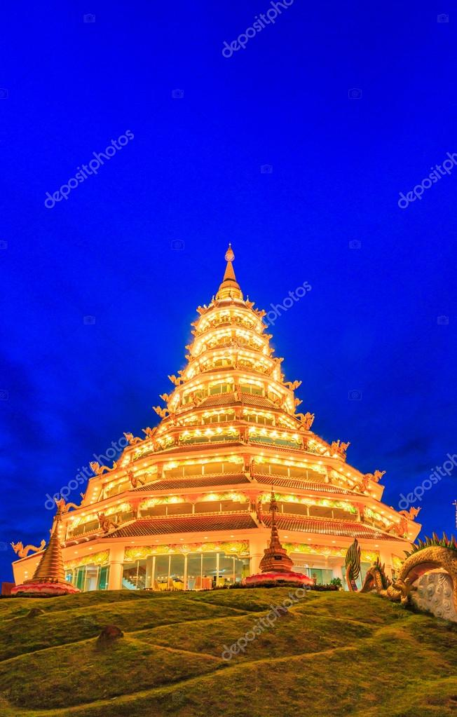 Chinese temple in Chiang Rai