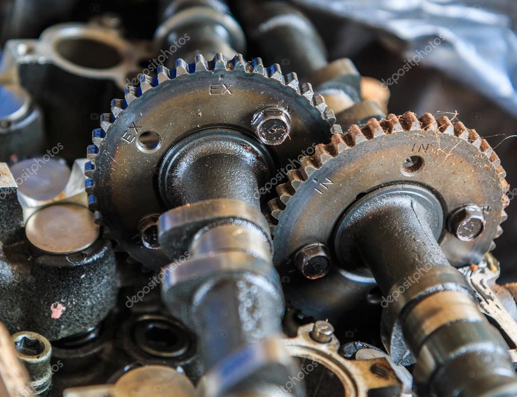Motorteile Getriebe — Stockfoto © Deerphoto #79039810