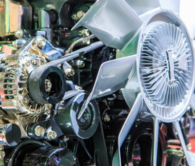 metal Car engine