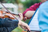 Fotografia musicisti suonare musica