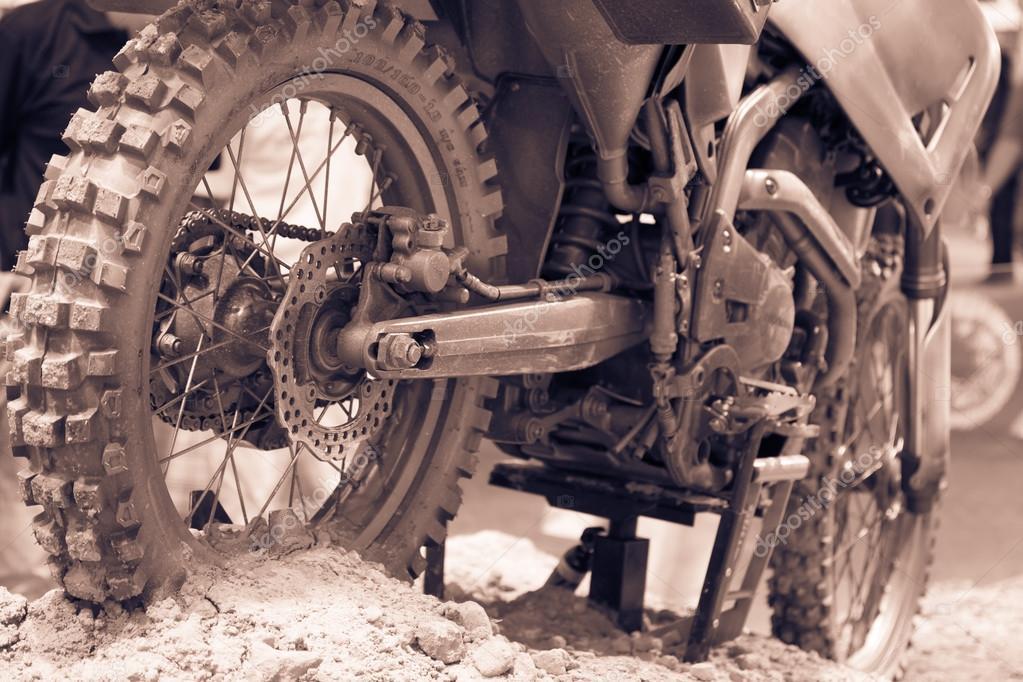 Ruota Di Bicicletta Di Motocross Foto Stock Deerphoto 93023736