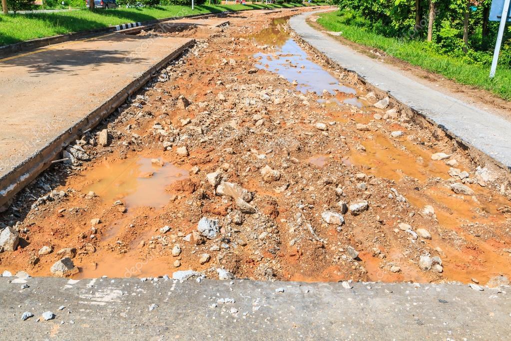 asphalt Road repairing