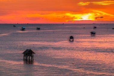 Thailand sunset landscape