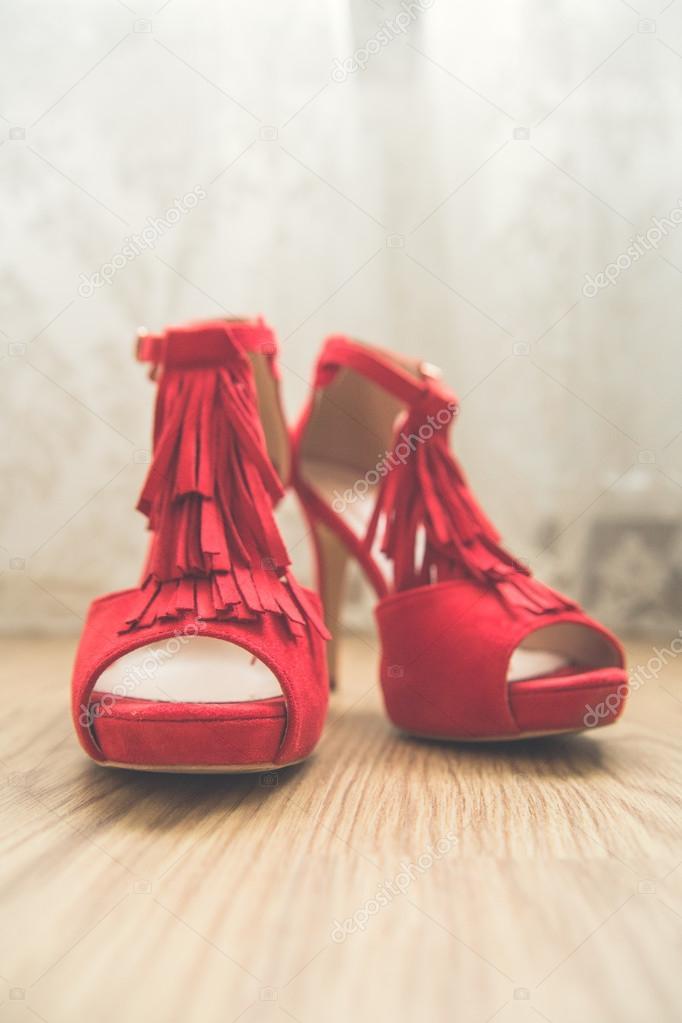 Novia La Rojos Para Zapatos Celebración Elegantes Boda De 53RLAq4j