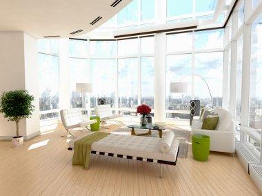 Modern Architectural Living Room Interior Design