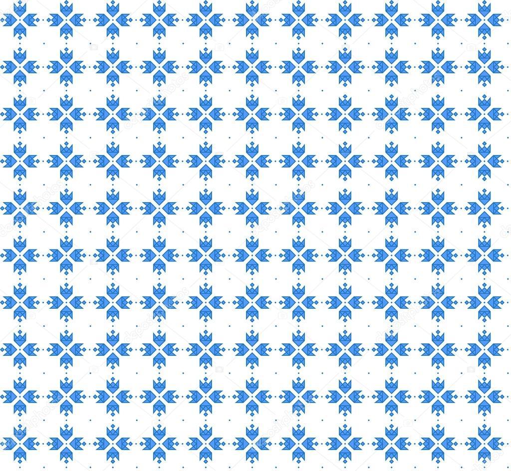 Sin fisuras patrón geométrico abstracto. Bordado ucraniano ...