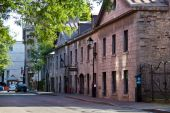 Tiché ulici ve staré Montrealu