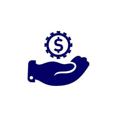 Money Care logo design vector template, Business logo design concept, Icon symbol icon