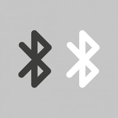 Bluetooth icon. Vector in flat design icon