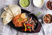 Mexická kuchyně fajitas