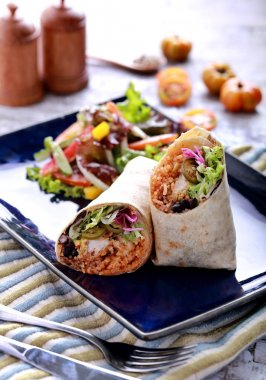 mexican burritos prawn