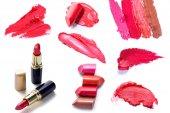 Fotografie Lipstick set cosmetics