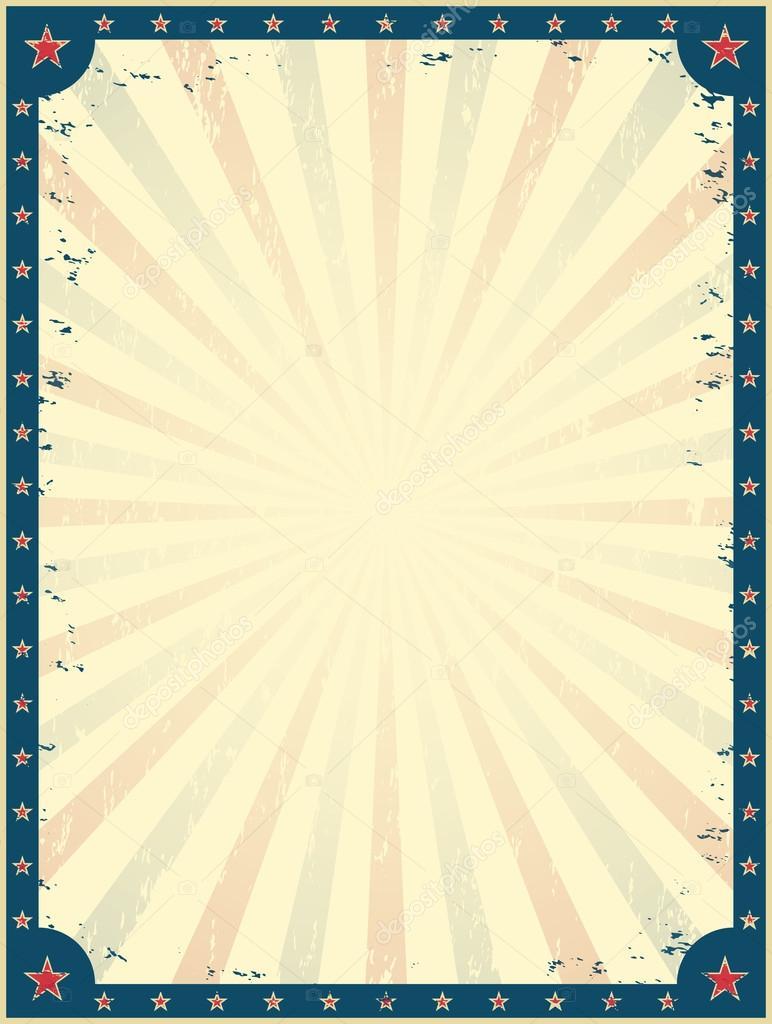 Plantilla cartel de circo vintage — Vector de stock © Aleksandrsb ...