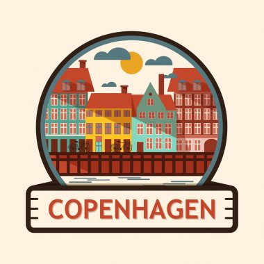 Copenhagen city badge, Denmark