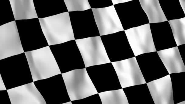 Rennflaggen-Animation