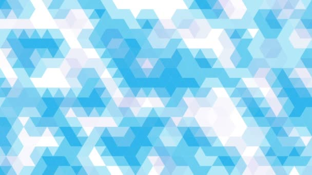 Abstract mosaic background animation