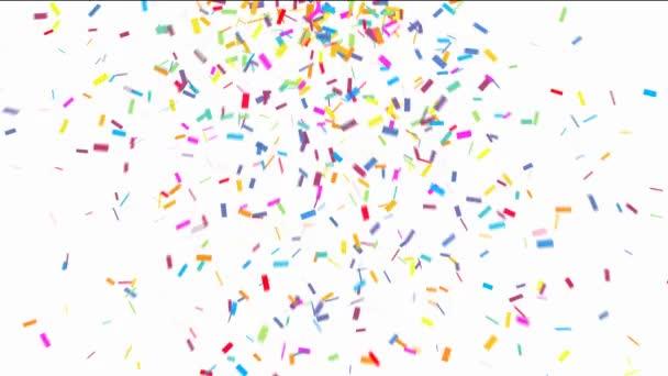 színes konfetti