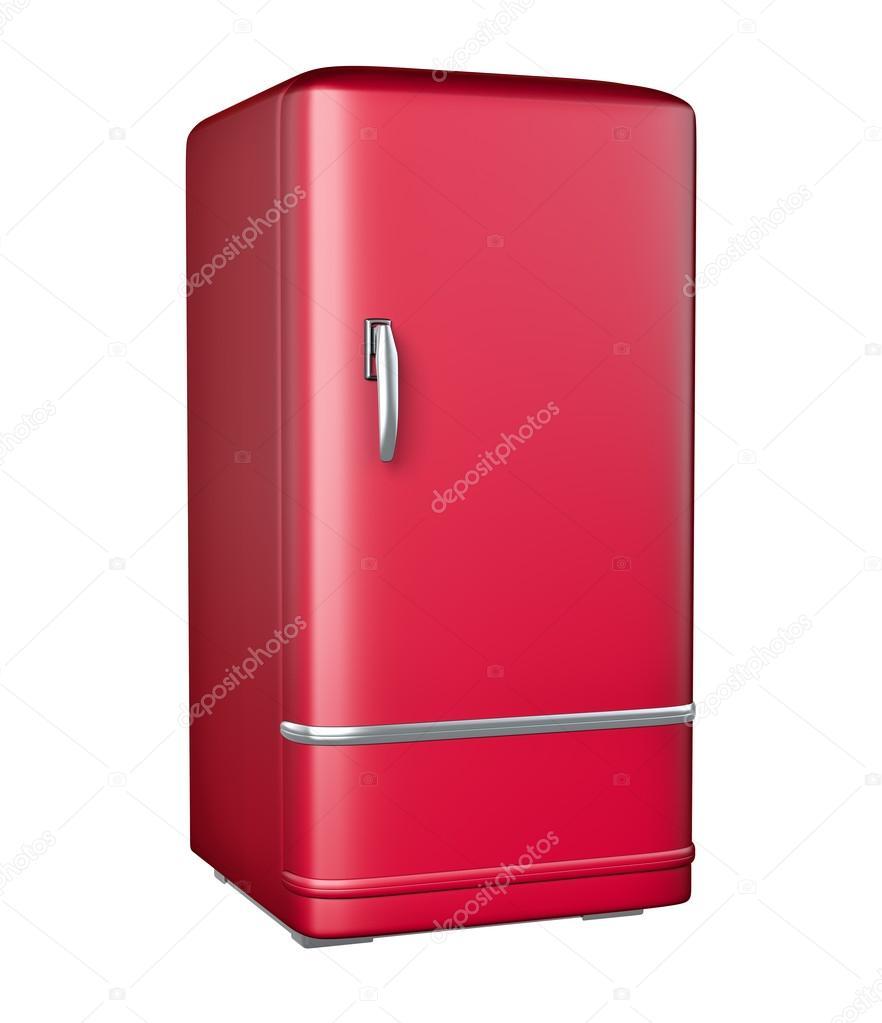 Retro Kühlschrank — Stockfoto © gl0ck #60153003