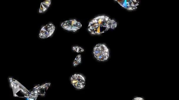 klesající diamanty