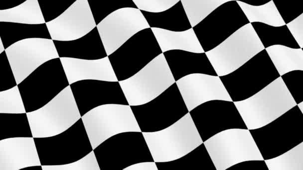 Karierte Rennflagge