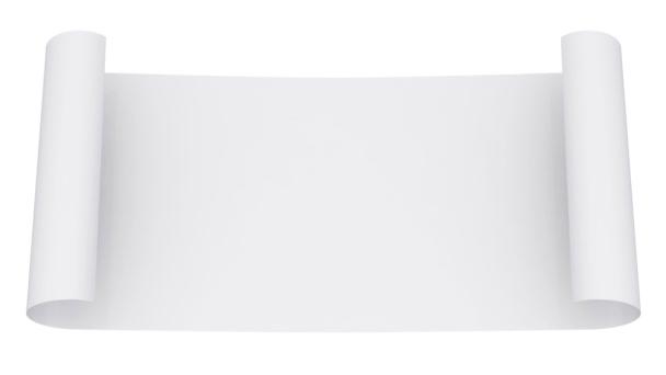 Dokument white paper scroll animace