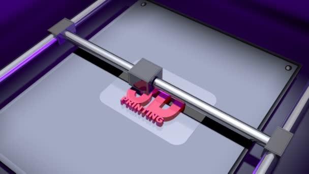 3D-Drucksequenzanimation