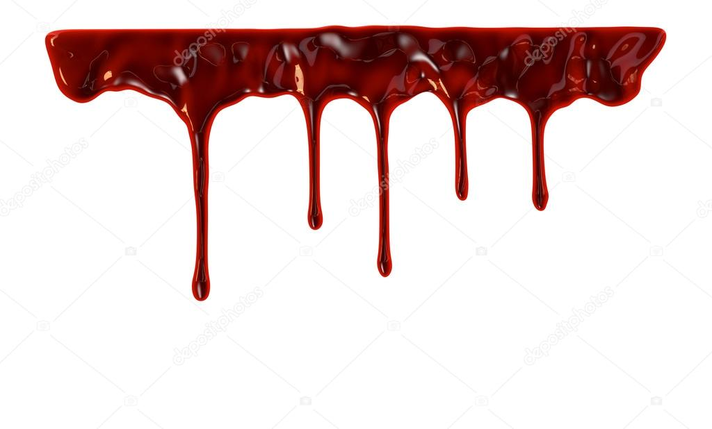 blood dripping down — stock photo © gl0ck #78045528