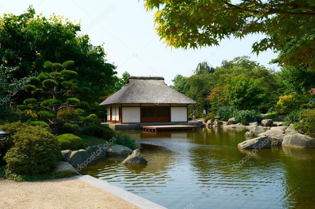 Japanischer Garten In Planten Un Blomen Park Hamburg
