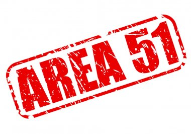 Area 51 red stamp text
