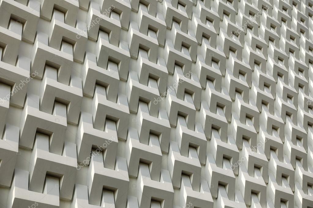 Patr n de pared de bloque de cemento blanco abstracto - Cemento blanco precio ...