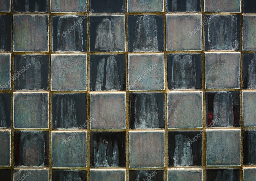 Struttura di vecchie mattonelle nere u foto stock pockygallery