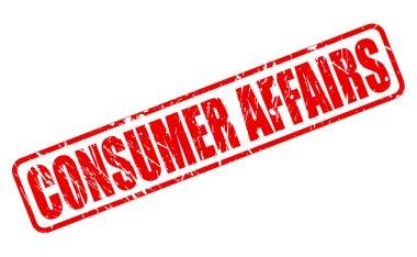 Consumer Affrairs red stamp text
