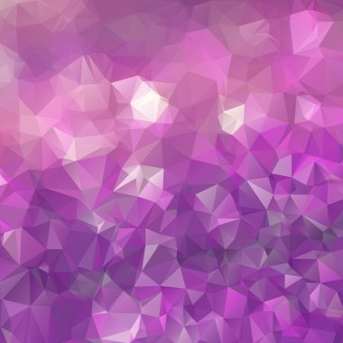 Abstract triangle violet texture