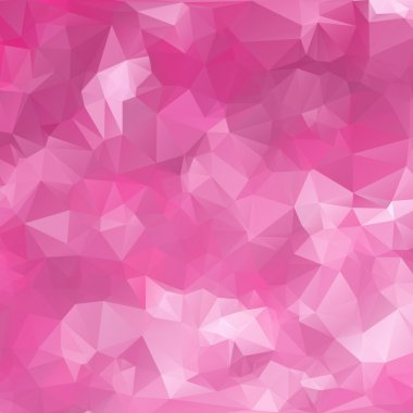 Abstract triangle pink texture