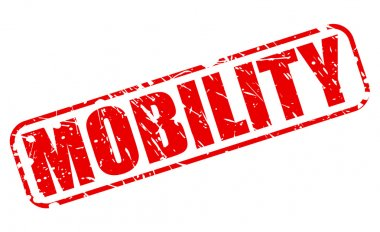 MOBILITY red stamp text