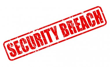 SECURITY BREACH red stamp text