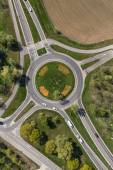 Fotografie Roundabout in the city