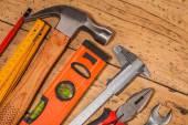 dřevo montážního nářadí